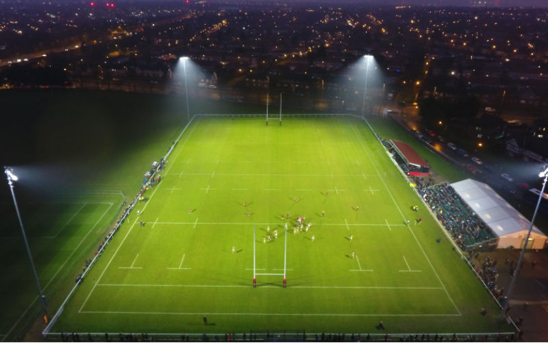 Rugby Now Under LED Floodlighting at Blackheath RFC