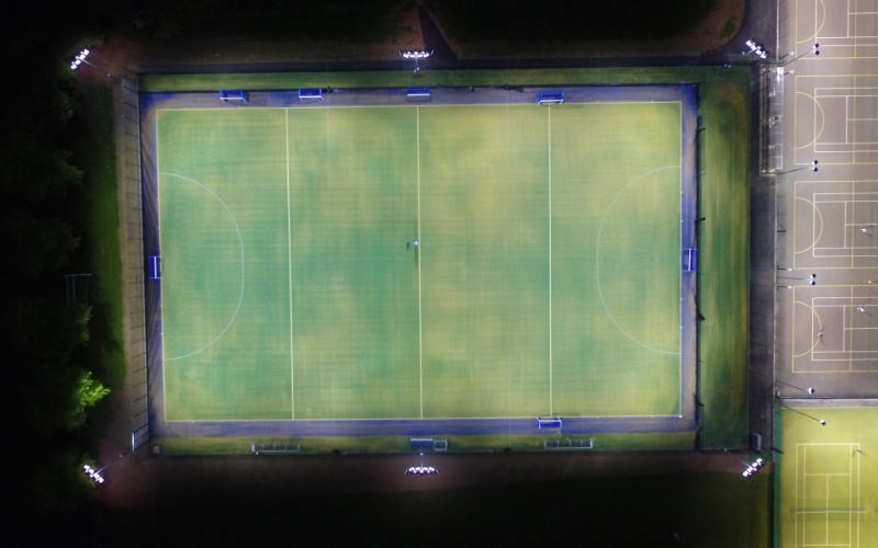 Rugby School 500 LED Hockey Pitch