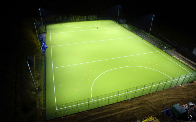 Blueharts Hockey Club 500 LUX LED Hockey Pitch